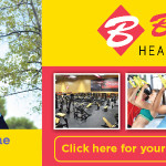 Baily's gym display ad