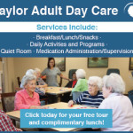 Taylor Adult Day Care display ad